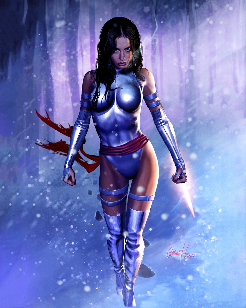 Marvel Psylocke Art See all Greg Horn s Marvel